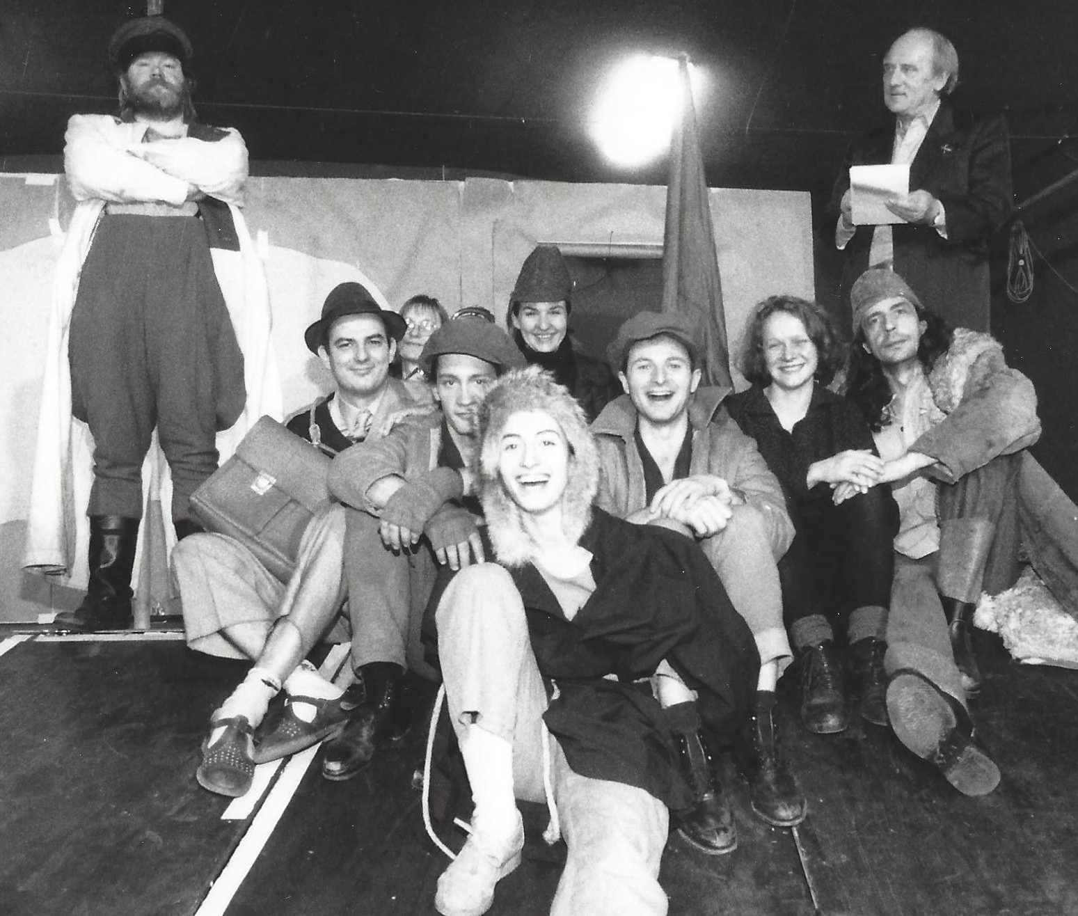 mit Rainer Müller, Holger Hübner, Martina Hansky (Akkordeon), Philipp Otto, Wicki Kalaitzi, Heike Pfeiffer, J.T., Henriette Cejpek, Robert Wittmers